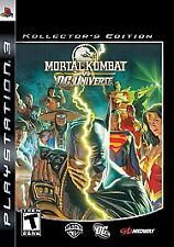 Mortal Kombat vs. DC Universe -- Collector's Edition (Sony PlayStation 3, 2008)