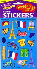 TREND Amusement en Français - French Scratch and Sniff (PERFUME) Reward Stickers