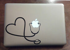 Nurse Vinyl Sticker Decal Macbook Pro window laptop USA doctor love happy funny