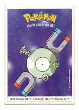 Pokemon Gotta catch'em all No. 81 - MAGNEMITE - MAGNETILO - MAGNETI (A4800)