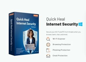Quick Heal Internet Security Standard for 10 PCs - 3 Years (Free Email Delivery)