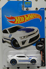 2016 WHITE CAMARO 50 YEARS 2 265 SS 2017 SPECIAL EDITION CHEVY HW HOT WHEELS