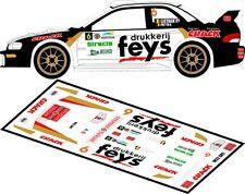 DECALS 1/43 SUBARU IMPREZA WRC  - #6 - LIETAER - RALLYE DU TAC 2012 - D43103