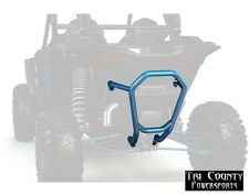 Pure Polaris Bull Bumper Rear RZR Turbo RZR1000 RZR1000 4 2014-17 Velocity Blue