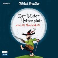 OTFRIED PREUßLER - DER RÄUBER HOTZENPLOTZ UND DIE MONDRAKETE   CD NEU