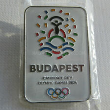 2024 Budapest Olympic Candidate City Metal Bid Pin #2