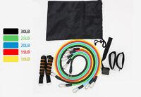 11 pièces/ensemble bandes de résistance en Latex Crossfit exercice de Yoga Tubes