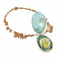 Moana Magical Seashell Necklace Heart Of Te Fiti Lights Up When Opened Girls Toy