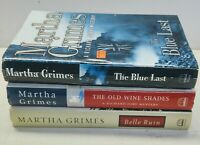 Martha Grimes Book Lot Of 3 Hardcover Thriller Mystery Suspense  Richard Jury