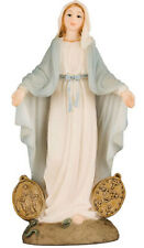 VIRGIN MARY OUR LADY MIRACULOUS MEDAL 125mm STATUE - CANDLES PICTURES LISTED