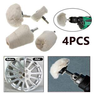 4Pcs Polishing Buffing Pad Mop Wheel Kit for Manifold, Aluminum, Stainless Steel
