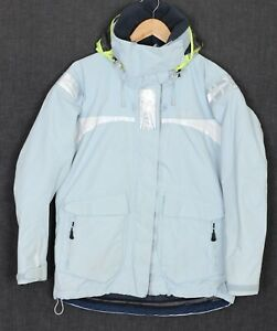 HENRI LLOYD TP2 VENTURA Hooded Sailing Yachting Jacket Women Size 3 MJ2661
