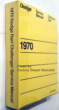 1970 Dodge Challenger Dart Swinger Factory Service Manual Shop Repair Reprint