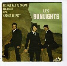 Les SUNLIGHTS Vinyle 45T EP NE JOUE PAS AU SOLDAT - LES FILLES - GISELE -AZ 1102