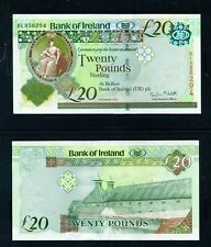 More details for northern ireland - 2013 bank of ireland £20 unc banknote