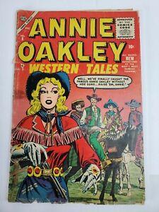 Annie Oakley #8 Atlas Comics 1955 Golden Age Western (READ)