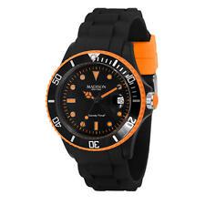 Relojes de pulsera unisex de plástico de goma