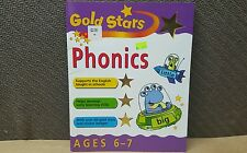 Gold Stars Phonics Ages 6-7 Year old Learning Workbook