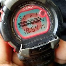 Pre-owned Casio G-Shock FOX FIRE DW-002 Module:1299 Digital Watch For Men