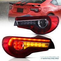 LED DRL Tail light Lamp For Toyota GT 86 ZN6 and Subaru BRZ 2012-2018 Rear Light