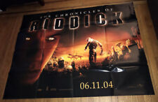 The Chronicles Of Riddick 5Ft Subway Movie Poster 2004 Vin Diesel