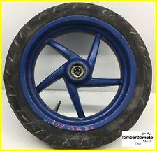 cerchio cerchione RUOTA a DISCO blu ANTERIORE Aprilia SR 50 Factory 2005 2014