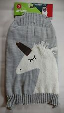 Vibrant Life Gray Unicorn Dog Pet Sweater Apparel Size Small NEW FREE SHIPPING