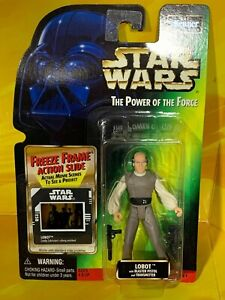 Star Wars - Power of the Force - Lobot (Freeze Frame)