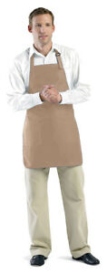 Augusta Sportswear Adult Self Fabric Full Length Two Patch Pocket Apron. 4350