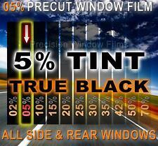 PreCut Window Film 5% Limo Tint for Chevy Silverado,GMC Sierra Crew 2015-2016