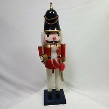 "Kingsbridge International Handmade Wooden Vintage Nutcracker English Guard 15.2"""