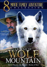 The Legend of Wolf Mountain: 8 Movie Family Adventure Collection (DVD) Brand New