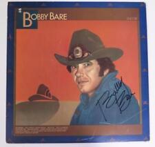 """BOBBY BARE Signed Autograph """"Encore"""" Album Vinyl Record LP"""