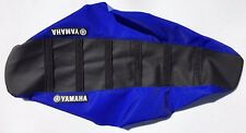 New Yamaha Blue & Black Ribbed Seat Cover YZ80 1993-2001