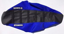 New Yamaha Blue & Black Ribbed Seat Cover YZ250F YZ400F YZ426F 1998-02