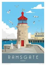 KENT TRAVEL POSTERS - HIGH QUALITY A4 GLOSSY PRINTS