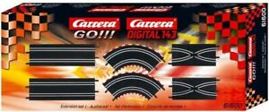 Carrera GO!!! Extension Set #1 with 6 Track Pieces 1:43 scale slot cars