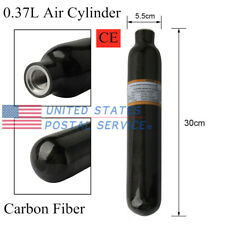 Paintball Rifle 0.37L Ce 30Mpa Carbon Fiber Scuba Tank Compressed Air Cylinder