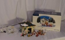 Dept 56 Snow Village  Set of 22 Another Man's Treasure Garage & accessories