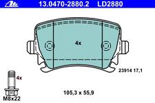 Bremsbelagsatz Scheibenbremse ATE Ceramic - ATE 13.0470-2880.2