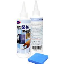 V-TECH Tile Reform Coating Grout Tiling 200g Repair Kit White Clean Floor 7oz