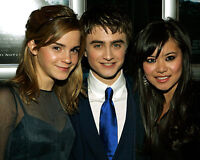 EMMA WATSON DANIEL RADCLIFFE KATIE LEUNG 8X10 CELEBRITY PHOTO HARRY POTTER 65