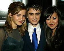 EMMA WATSON DANIEL RADCLIFFE KATIE LEUNG 8X10 PHOTO PICTURE HARRY POTTER 65