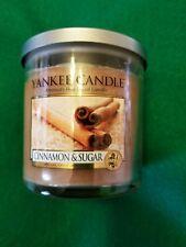RARE ~ Cinnamon and Sugar Scented ~ Yankee Candle 7 oz jar
