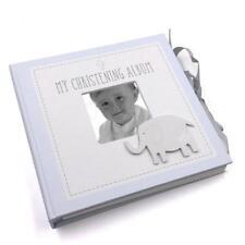 "My Christening Baby Boy Photo Album 4x6"" holds 50 photos CG1502B"