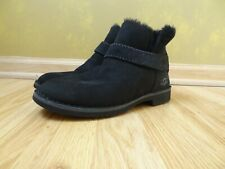 Uggs Australia McKay 1012358 women black suede ankle boots USA Size 8.5