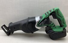 Hitachi CR18DMR 18 Volt Cordless Reciprocating Saw With Battery & Charger!!