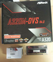 Aufrüstkit AMD Athlon 200GE AM4, ASRock MB u. 4 GB DDR4 RAM