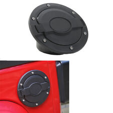 fit 2007-2017 Jeep Wrangler JK Black Gas Tank Cap Fuel Filler Cover without logo
