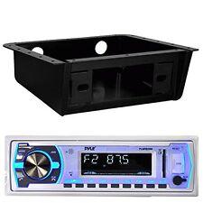 PLMRB29W Bluetooth USB Radio, Metra 99-9000 Universal Underdash Stereo Housing